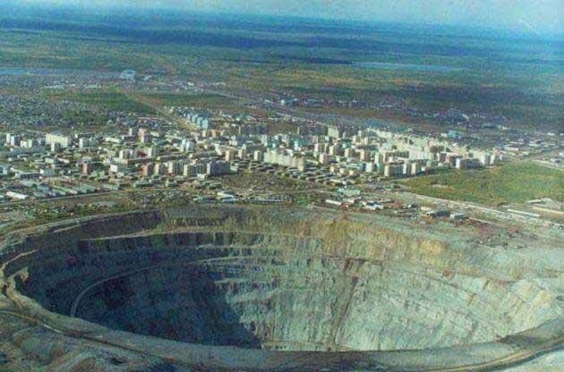 rosyjskie diamenty