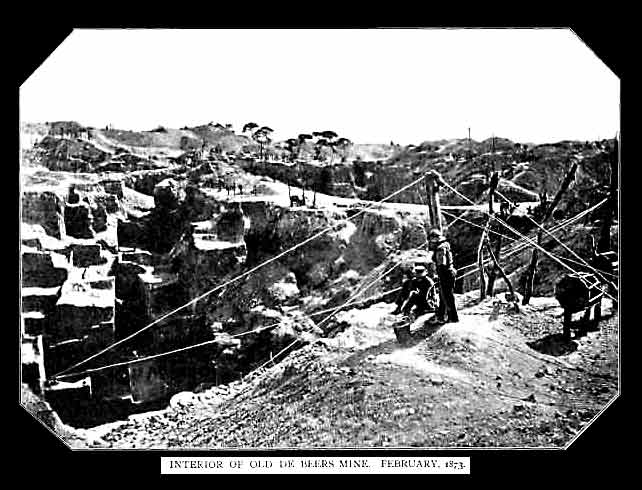 kopalnia diamentów De Beers
