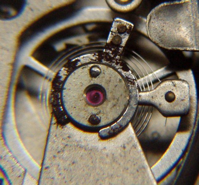 rubin w zegarku
