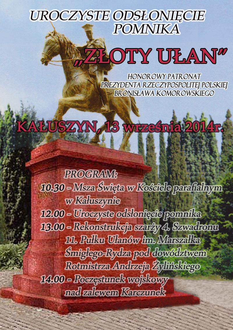 zloty_ulan_-_uroczystosci_w_kaluszynie